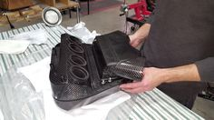 Hand made in the good ol' USA!  #america #usa #carbon #motorcycles #carbonfiber #racing #hayabusa #suzuki #handmade