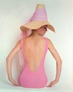 pink maillot
