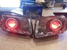 Custom MK4 Jetta Projector Retrofit Headlights