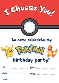 Playpennies Media Pokemon Printable Birthdaycardpdf