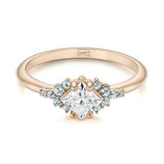 Engagement Ring 101 What's Your Ideal Diamond Ring Shape | Princess Cut | Joseph Jewelry #diamondrings
