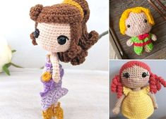 Such beautiful crochet doll will be an amazing gift for little girls, because it's even more stunning than Barbie! One of the coolest things is also the fact, that you can custom-make entire wardrobe for her.  #freecrochetpattern #amigurumi #toy Little Girl Gifts, Little Girls, Free Crochet, Crochet Hats, Amigurumi Doll, Beautiful Crochet, Best Gifts, Crochet Patterns, Barbie