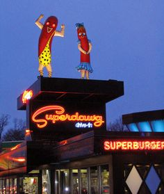 Neon Signs from Chicago Land