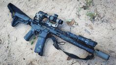 Bravo Company LPVO setup with Night Vision Capabilities. --------------- ★ --------------- Be sure to check out the epic graphic novel… Ar Barrels, Ar Lower, Cloudy Nights, Ar Build, Airsoft Helmet, Battle Rifle, Ghost Hunters, Fire Powers, Jurassic Park