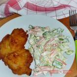 Krumplibundás hússzelet recept - Húsételek - Receptvarázs – receptek képekkel Pork, Homemade, Meat, Chicken, Cooking, Kale Stir Fry, Kitchen, Home Made, Pork Chops
