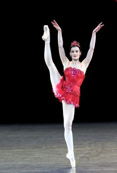 Aurélie Dupont in Rubies from Balanchine's Jewels