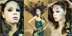 make up peacock.  my profile facebook : https://www.facebook.com/joemy.bijoux photographer : https://www.facebook.com/DSALAMONEPhotography?fref=ts