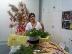 Natal DRIE 2010   Decorações de Natal