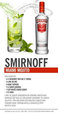 Smirnoff Miami Mojito