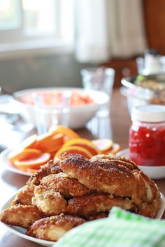 Grandma's Fried Chicken - The best in the entire world! Best Chicken Recipes, Delicious Dinner Recipes, Yummy Food, Slow Cooker Recipes, Crockpot Recipes, Grandma's Recipes, Planning Menu, Making Fried Chicken, Super Healthy Recipes