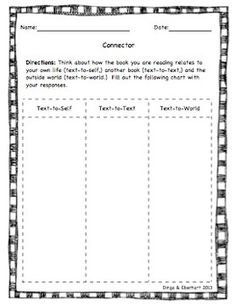 Literature Circle Role Sheet Packet