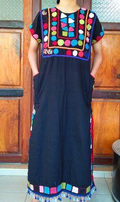 varisa thai-esan fabrics Short Sleeve Dresses, Dresses With Sleeves, Fabrics, Boho, Fashion, Tejidos, Moda, Sleeve Dresses, Fashion Styles