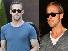 Estilo Ryan Gosling, Pilot, Mens Sunglasses, Actor, Men, Glamour, Man Sunglasses