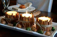 cinnamon sticks candles