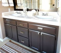 Bathroom remodeling / cabinet painting