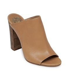 Vince Camuto Vestata Peep-Toe Mules | Dillard's Mobile $119.00