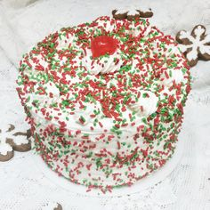 Holiday cake - Mueller's Bakery!