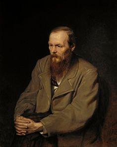 Vasily Perov(1834ー1882)「Fyodor Dostoyevsky」(1872)