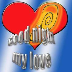 Happy Greetings Congrats: ecard Good night My love