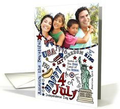 Happy 4th of July Photo Card by Corrie Kuipers