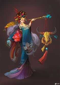 This was pinned as Sona but I think it looks more like Karma