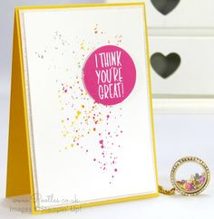 South Hill Designs & Stampin' Up! Sunday Crazy Summer Colour Locket and ...