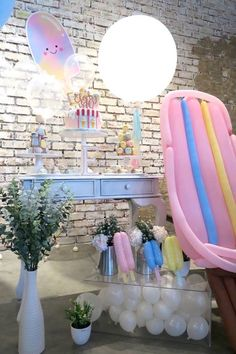 Popsicle Birthday Pa