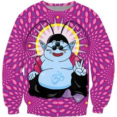 Buddha King Kai Sweatshirt Dragon Ball Z madness Jumper Women Men Unisex 3D Cartoon Sweat  Tops Hoodies Outfits Plus Size - DragonBallZfans