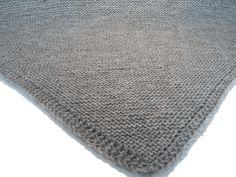 Manta tejida para minicuna. - No sin mis patucos Knit Crochet, Blanket Crochet, Knitting, Home Decor, Irene, Tricot, Bedspreads, Baby Knitting, Homemade Home Decor