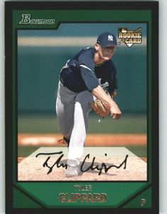 2007 Bowman Draft #BDP41 Tyler Clippard (RC) - New York Yankees (RC - Rookie Card) (Baseball Cards) by Bowman Draft. $0.88. 2007 Bowman Draft #BDP41 Tyler Clippard (RC) - New York Yankees (RC - Rookie Card) (Baseball Cards)