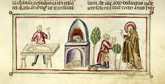 Vitae patrum, MS M.626 fol. 67r - Images from Medieval and Renaissance Manuscripts - The Morgan Library & Museum