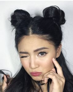 Nadine Lustre More Nadine Lustre, Lady Luster, Filipina Actress, Female Character Inspiration, Jadine, Celebs, Celebrities, Dark Hair, Hair Inspo