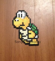 Hey, I found this really awesome Etsy listing at https://www.etsy.com/listing/185563185/turtle-mario-bros-geekery-video-games