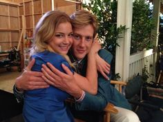 Revenge - I know I'm not a #Nemily shipper, but this is just plain cute! If this was twenty years ago, Emily would be 6 years old and Gabe would be 20! it would be so cute!
