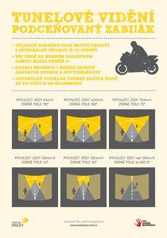 Tým silniční bezpečnosti   Aktuality - Tunelové vidění – podceňovaný zabiják motocyklistů