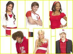 High school musical cast. Love this movie!