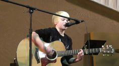 Alive Again-  Matt Maher acousitc cover by Carson Lueders age 9 (+playlist)