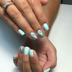 Semi-permanent varnish, false nails, patches: which manicure to choose? - My Nails Cute Acrylic Nails, Cute Nails, Pretty Nails, My Nails, Summer Shellac Nails, Opal Nails, S And S Nails, Perfect Nails, Gorgeous Nails