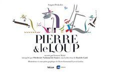 Livre musical: Pierre et le loup, Morel, François, Helium, Helium Album - Le Parefeuille