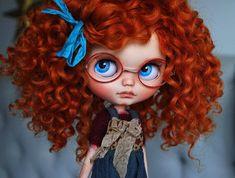 OOAK Custom Blythe Doll GINGER by Cihui