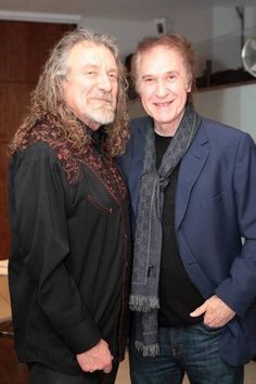 Led Zeppelin: Robert Plant and Ray Davies of the Kinks.