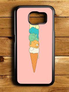 Ice Cream Cartoon Samsung Galaxy S6 Case