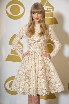 lace dress -   taylor swift