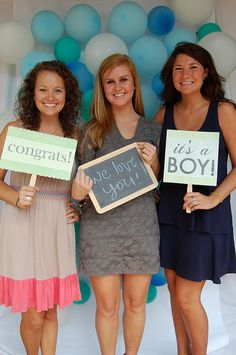 love the chalk board and message signs for photo booth- our color theme!