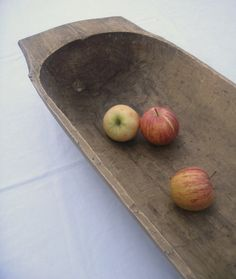 Antique European Dough Bowl Trencher by LinenHaus on Etsy