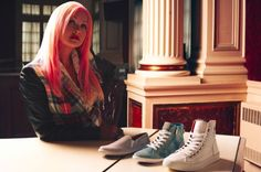 Social Brand M4D3 Have Teamed Up with Cyndi Lauper's True Colors Fund #shoes trendhunter.com
