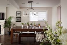 Another inspiring transformation by Jillian Harris on Love it or List it Vancouver - love all the plants in this house!