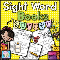 This set of sight word books has students paste, trace, and write each word.  It has 3 different books.  Each book comes in a block print and a DNealian-style print.  The following sight words are covered:  this, who, said, want, ran, out.  Each book has a cover page, 7 pages of print for the child, and a set of letters to cut out and paste to make the sight words. $