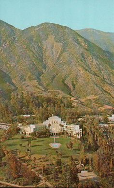 Arrowhead Springs Hotel / San Bernardino by BooksPaperAndMore Visit California, California Travel, San Bernardino County, Riverside County, Lake Arrowhead, Vintage Postcards, The Good Place, Surfing, Golden State