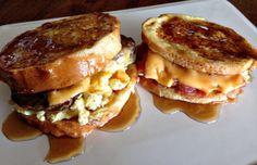 Americana French Toast Breakfast - www.TheBarnyardBsitro.com